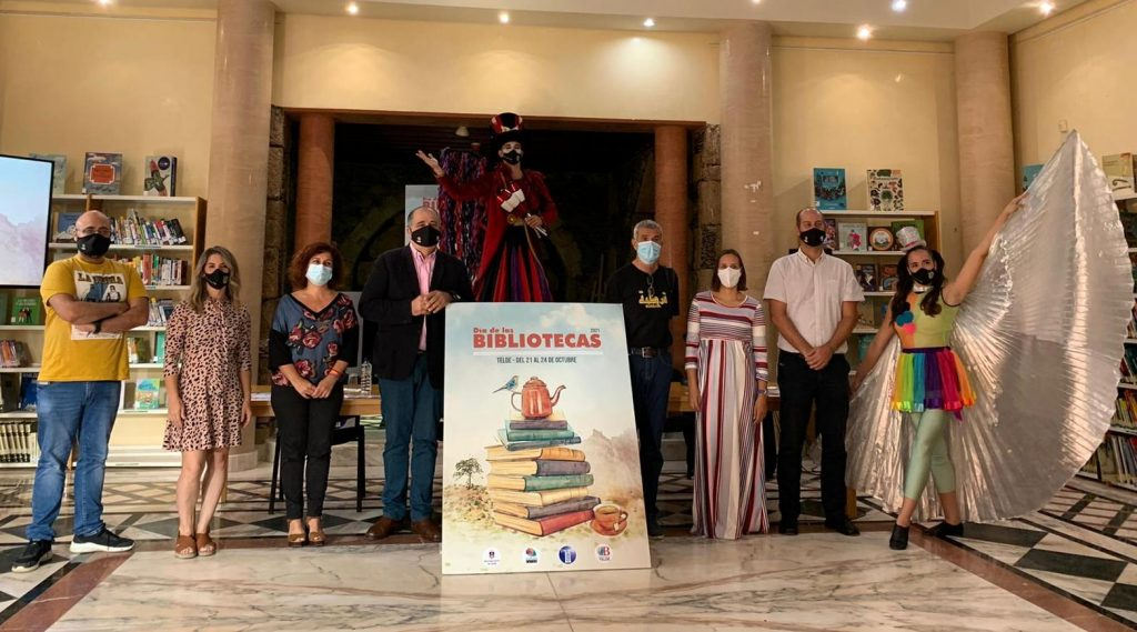 'LEER, APRENDER Y DESCUBRIR' PARA CELEBRAR EL DÍA DE LAS BIBLIOTECAS EN TELDE